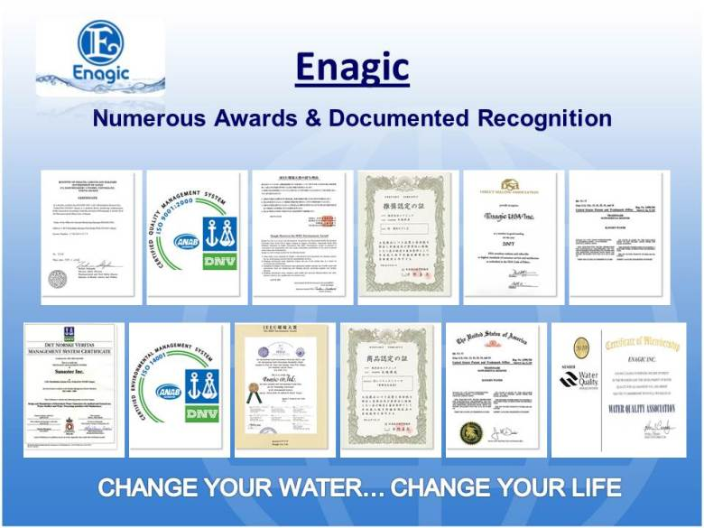 enagic awards